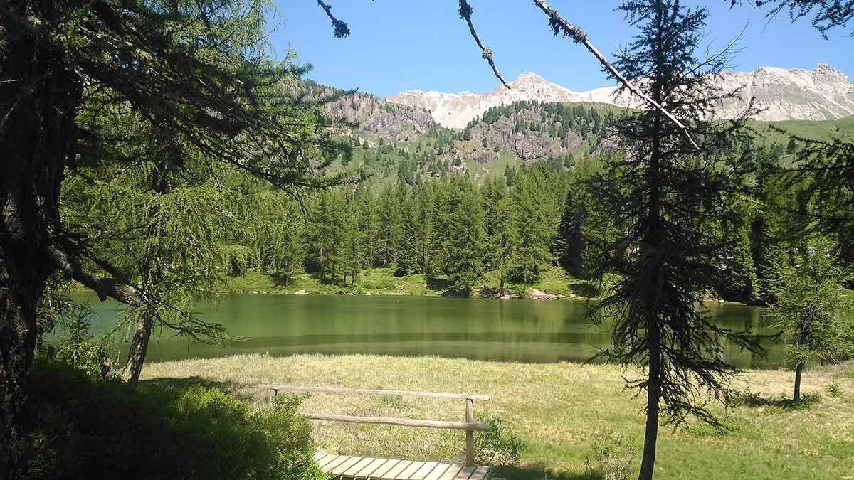 Lago San Pellegrino Val di Fassa